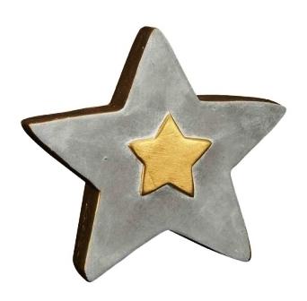 Stern aus zement
