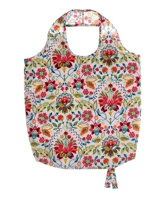 "Tasche Roll-Up ""Bountiful Floral""  Ulster Weavers"