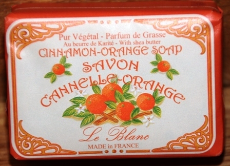 Seife Savon Cannelle-Orange 100 g Le Blanc Frankreich