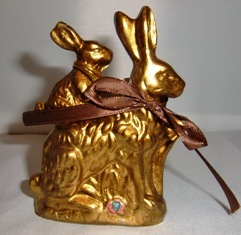 Hase in gold