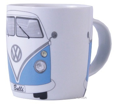 VW Bulli T1 Tasse in hellblau - VW-Collection in Geschenkbox