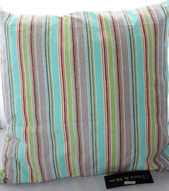 Kissen Summer Stripe Multi 45 x 45 cm  Linen & More
