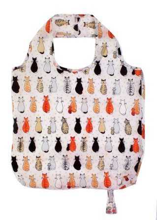 "Tasche Roll-Up ""cats in waiting"" NEW COLLECTION Ulster Weavers"