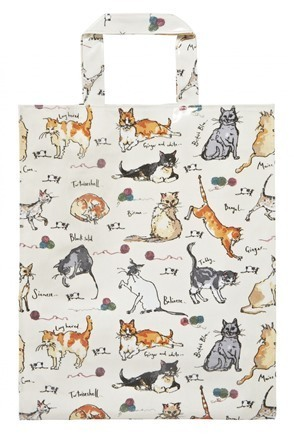"Tasche PVC medium ""MF cats"" von Ulster Weavers"