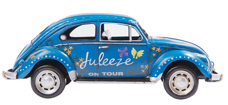 "Model Auto ""Juleeze on Tour"" blau 20x9x9 cm Clayre & Eef"